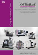 OPTIMUM CNC catalogue 2019